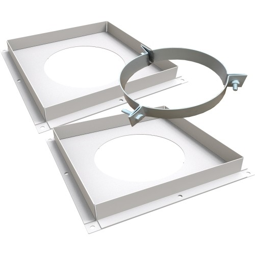 White Ventilated Firestop Support Kit