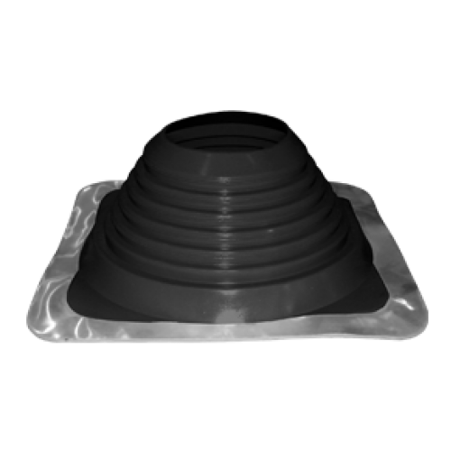 "6"" inch Flat / metal roof flashing EPDM for 6"" twin wall flue"