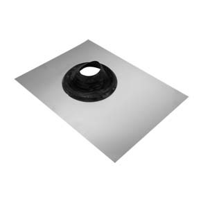 "8"" inch Tiled roof Flashing for 200mm twin wall flue 8-11"" 200-275mm"