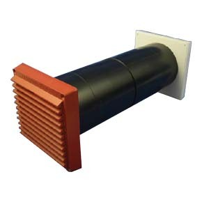 Cowled LookRyt Aircore Ventilator - Terracotta - 125mm Hetas approved