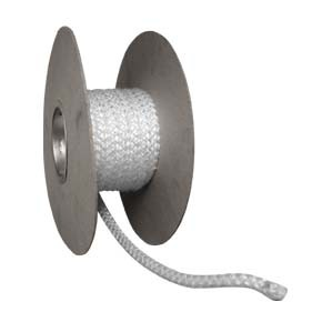 Std Ceramic Fibre rope for stove doors 25m  drum - 8mm