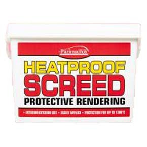 Heat Proof Screed 10kg Tub