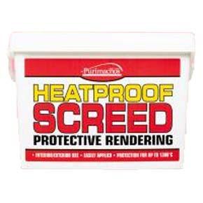 Heat Proof Screed 10kg Tub