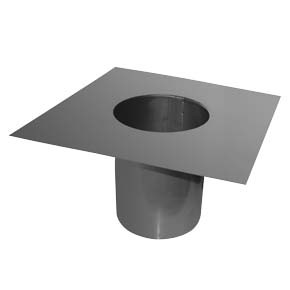 Sump Adapter (325mm square plate) - 125mm
