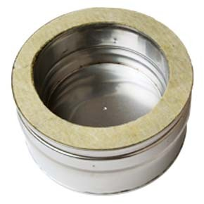 Twin Wall flue Tee Cap (060) - 180mm Dia