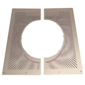 "5"" inch Twin Wall flue Ventilated Fire Stop (641)"