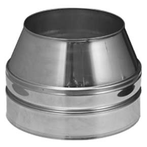 "3"" inch Twin Wall flue Open Terminal (011)"