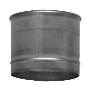 "3"" inch Single Wall Boiler Adaptor (100)"