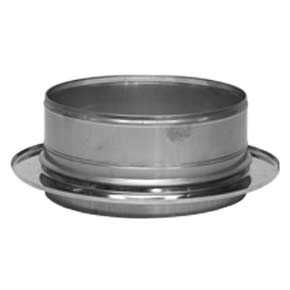 "10"" inch Twin Wall boiler adapter (100)"