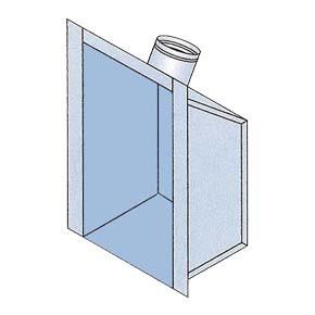 Flue Gas Collector Box + SPRING FIX