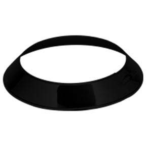 "7"" inch Black twin wall Storm Collar"