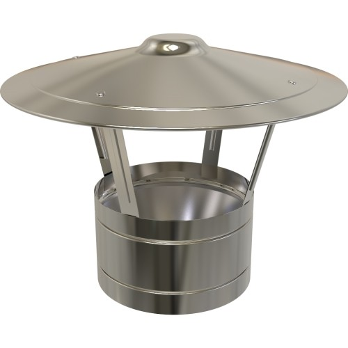 "5"" inch Twin Wall flue Raincap (010)"