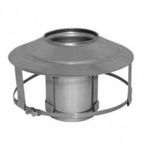 "6"" inch Pot Hanger c/w AD Cowl (S/Steel) x 150mm"