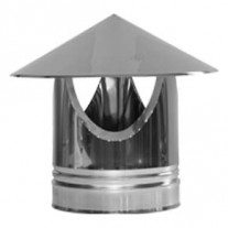 "6"" inch Twin Wall chimney flue Raincap (010)"