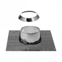 "7"" inch Flat Flashing with Storm Collar (019)"