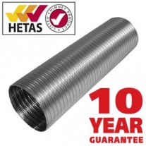 Flexible flue liner 316 grade multi fuel - 125mm  5 inch - 60% Off Special offer