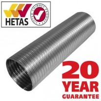 "4"" inch Flexible liner 904 grade Multi fuel 4 inch - 25yr warranty"