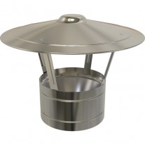 "7"" inch Twin Wall flue Raincap (010)"
