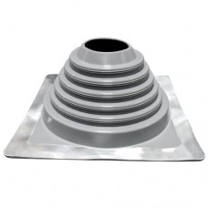 """4"""" inch Flat / metal roof flashing high temp EPDM for 4"""" twin wall"""