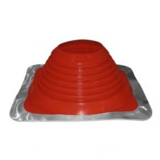 "High Temperature Red Silicone Masterflash No.4 (3""-6"" 76mm-152mm)"