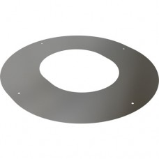 "4"" inch Twin Wall Round Finishing Plate 90 deg"