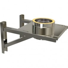 Long adjustable base support in stainless