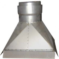 "7"" inch Gather Hood (300x400) x 180mm"