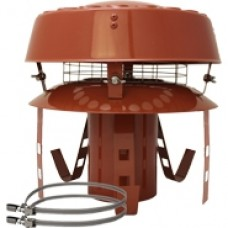 "8"" inch Pot Hanger c/w AD Cowl (Terracotta)"