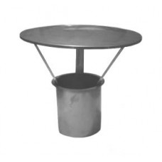 "8"" inch Protection Sleeve c/w integrated Rain Cap"