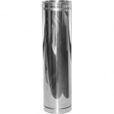 """6"""" inch Twin Wall insulated flue Pipe 200mm (255)"""