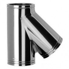 "4"" inch Twin Wall flue 135 Tee"