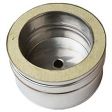 "7"" inch Twin Wall Tee Cap with Drain (061)"