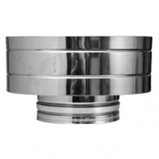 "8"" inch Twin Wall flue Weathering Gas Cap (12G)"