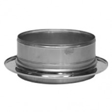Twin Wall flue boiler adapter (100) - 150mm dia
