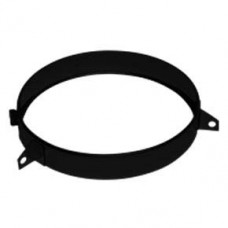 "8"" inch Black twin wall flue - Guy Wire Bracket"