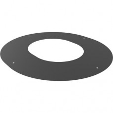 "Round 90 deg finishing plate - for 6"" twin wall"