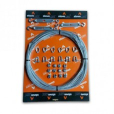 Twin Wall Guy Wire kit (110) - 30m complete kit