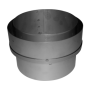 "10"" inch Adapter Flex to single wall flue 250mm"